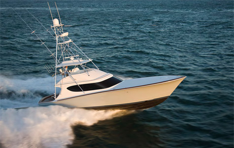 Hatteras Yachts, located in North Carolina, and whose legend started in 1959 ...