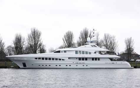 Heesen Yachts Launches Superyacht Air