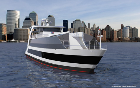 Derecktor To Build Hybrid Ferry For Statue Cruises
