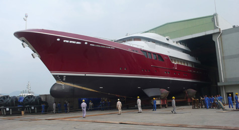 Mazu: The Second Superyacht In The Marco Polo Series From Cheoy Lee