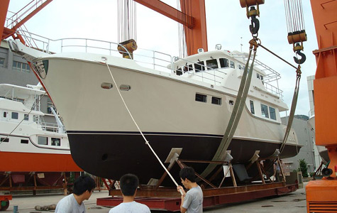 Nordhavn Launched The First Nordhavn 63 Trawler