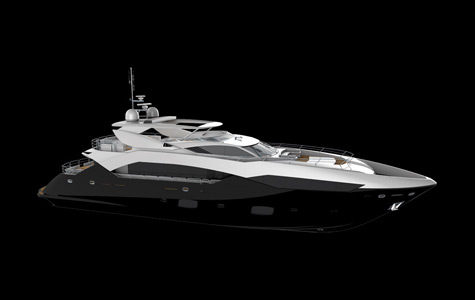 Sunseeker Yachts will launch the 35m motor yacht Predator 115 at the London ...