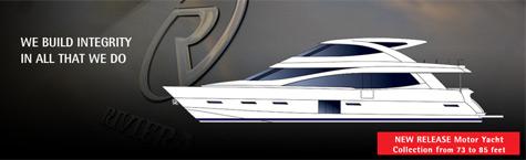 Riviera Motor Luxury Yachts
