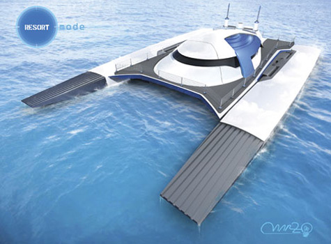 Submerge 150 Catamaran Project By Alex Marzo