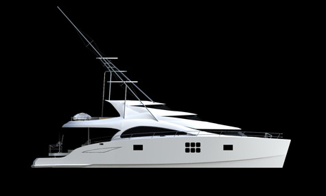 70 Sunreef Power Sport Fish Catamaran