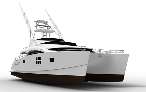 75 Sunreef Power Sport Fish Catamaran