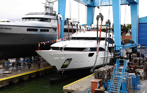 First Crystal 140ft Superyacht Of The New Benetti Class Range Launched