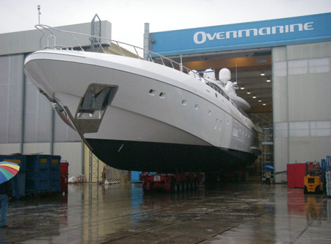 The 6th Superyacht Mangusta Open 165 Launched By Overmarine