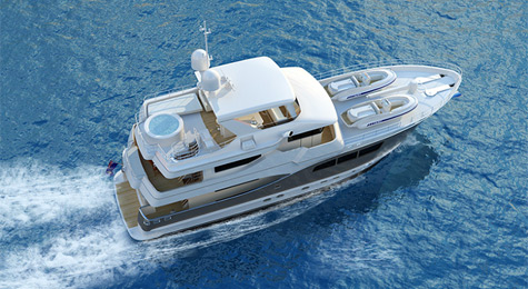 All Ocean Yachts 90-foot Expedition
