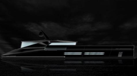 Blackout 38m Superyacht Project By Docq Concept