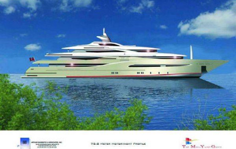 New Superyacht Project Fusion By The Megayacht Group