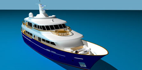 Jericho: New Superyacht Project By Diana Yacht Design