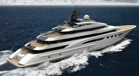 Bellissimo: New 88m Superyacht Project By Lurssen Yachts