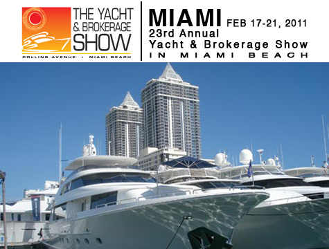 Miami Yacht And Brokerage Show 2011