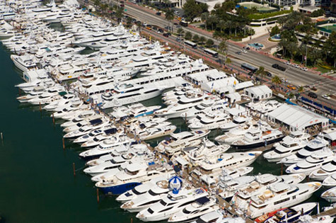The Yacht & Brokerage Show in Miami Beach 2011