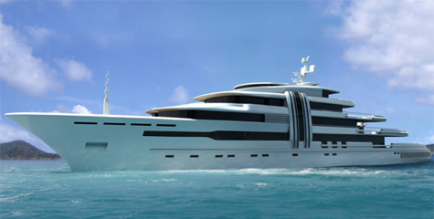 "Expedition Superyacht ""Z"" By Ken Freivokh And Marco Yachts"