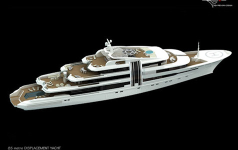 Marco Yachts 85.30m project Z