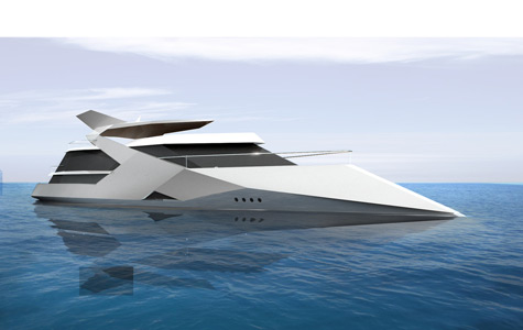 Odin: Futuristic And Aggressive Superyacht Concept By Sigmund Yacht Design