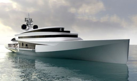 Paradigm: The 60m Superyacht Concept By Pama Architetti Yacht Design