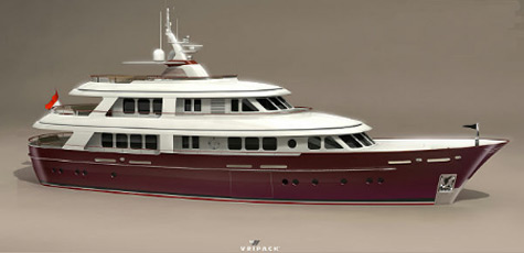 Rossomare 115 Family Yacht