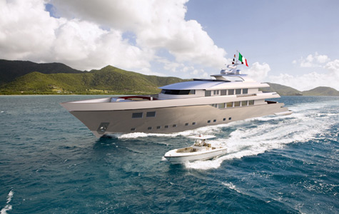 BaiaMare: New 40m Superyacht For Cruising By Nedship Group