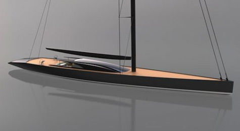 Dubois P1409: New 65m Sloop Concept By Dubois Naval Architects