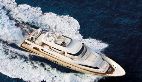 Navetta 33 Crescendo: Villa On The See By Ferretti Custom Line