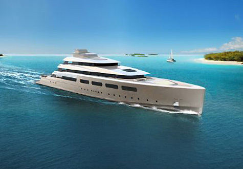 Oceanco Presents PA076 Semi-Custom Superyach Concept