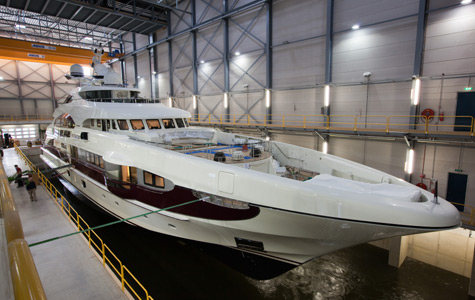 Quinta Essentia: The First Yacht In The 55m Semi-displacement Series By Heesen Yachts