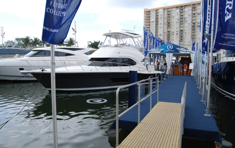 Riviera - Miami Yacht and Brokerage Show result