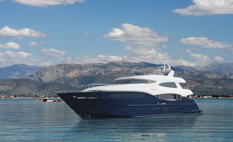 Vulcan 35m Tri-Deck Superyacht By Vicem Yachts