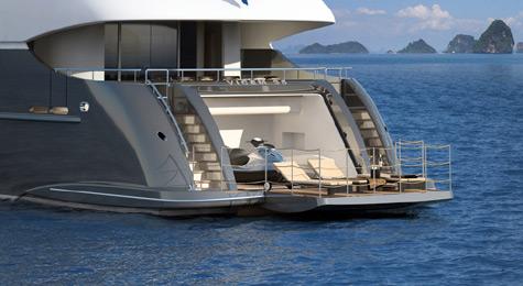 Vulcan 35 m Tri Deck