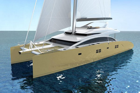 Sunreef 82 Double Deck Sailing Catamaran