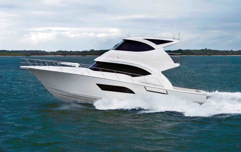 Riviera Presents New 53 Enclosed Flybridge Motor Yacht