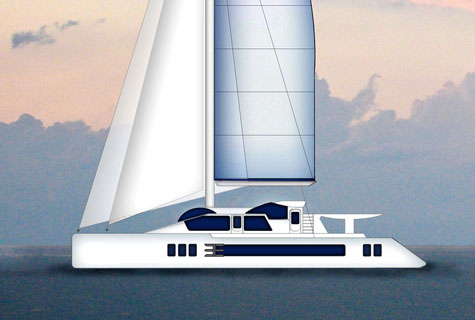 Paracas 82: Luxury Sailing Catamaran Concept By Paracas Yachts