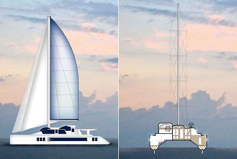 Paracas 82 luxury sailing catamaran
