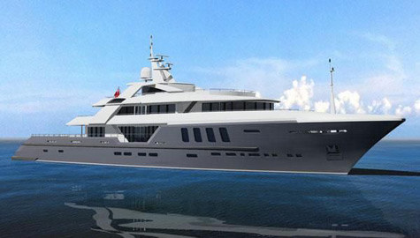 Ruea Yachts, Design Unlimited And BMT Nigel Gee Team Up For A 75m Superyacht