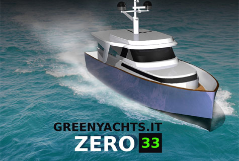 Zero 33: New Eco-friendly Yacht Concept By Green Yachts