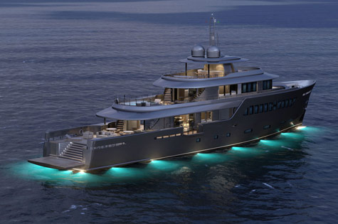 Mondo 45: Stylish Explorer Superyacht By Mondo Marine