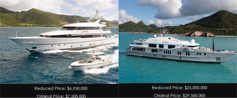Superyacht Market Offers Rock-Bottom Prices Directly