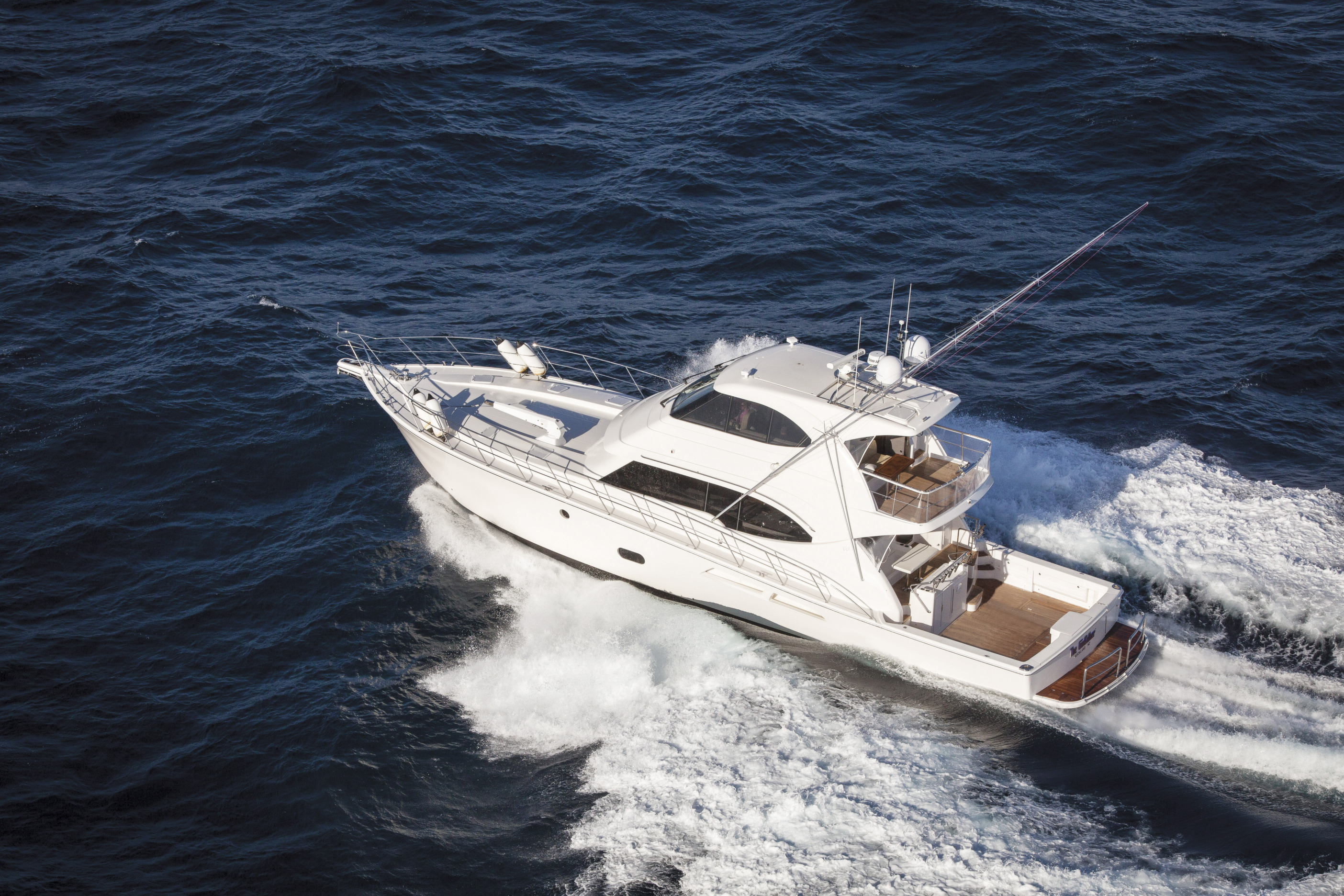 Riviera's flagship 75 Enclosed Flybridge is the ultimate long-range cruiser offering a choice of engine options