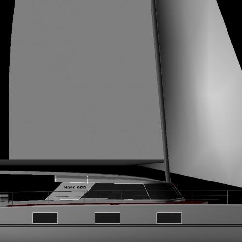 New Catamaran Moro600