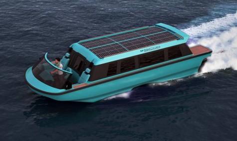 SWATH Electra Glid Megayacht Tender