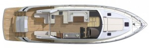 Riviera 6000 Sport Yacht Deck Level
