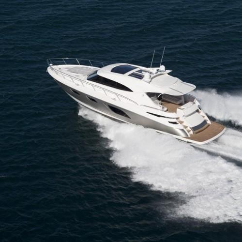 Americas Premiere of Riviera 6000 Sport Yacht